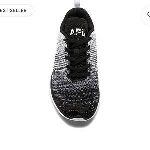 APL Techloom Pro Sneaker Black Heather Grey White